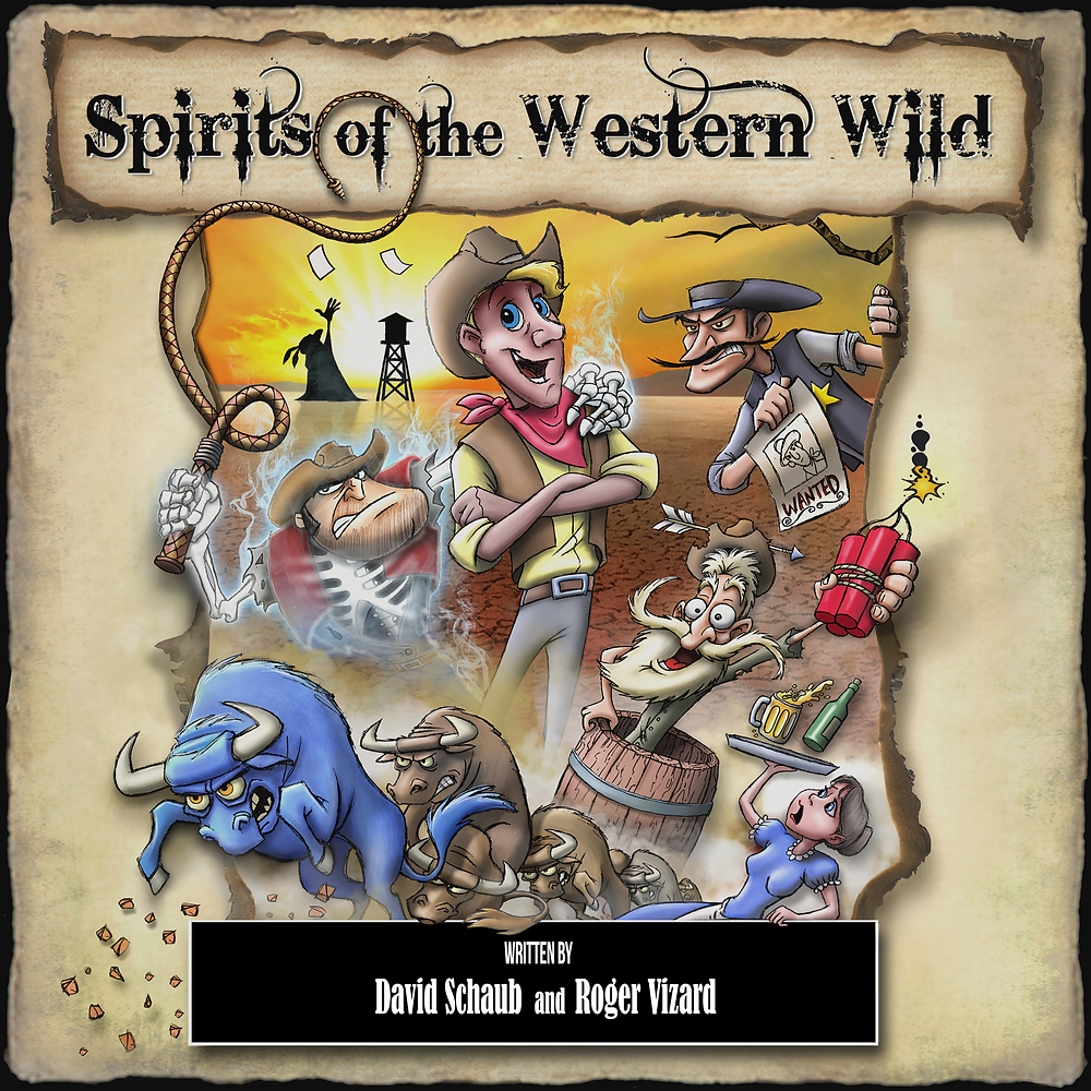 Audible cover image for SPIRITS OF THE WESTERN WILD