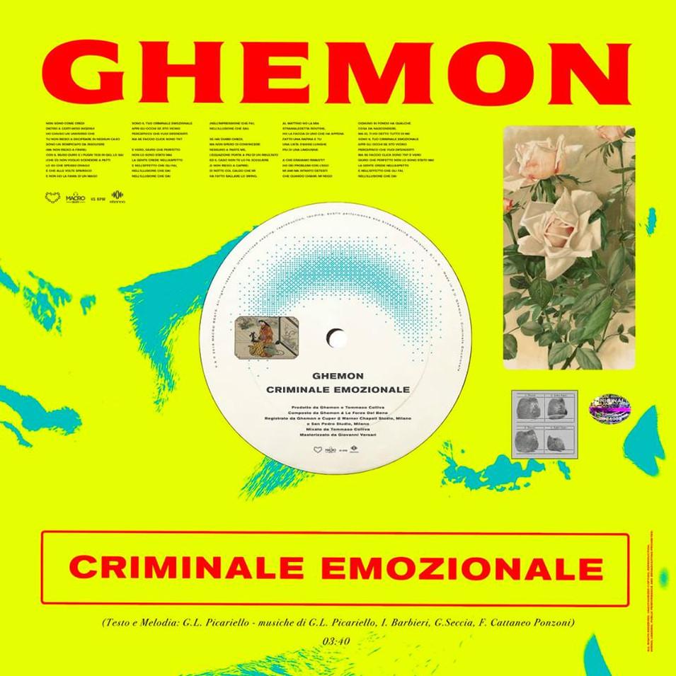 Criminale Emozionale - Ghemon