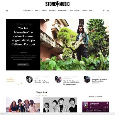 Articolo STONE MUSIC