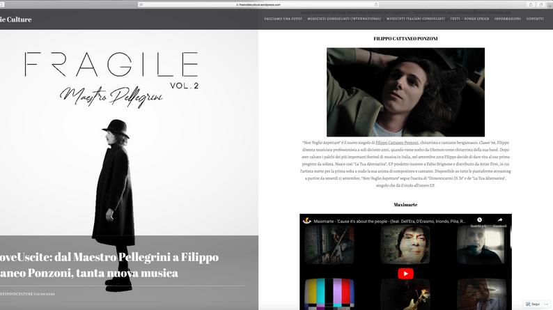 Homepage Freeindieculture