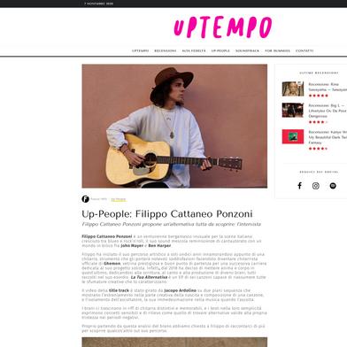 Intervista UPTEMPO MAGAZINE