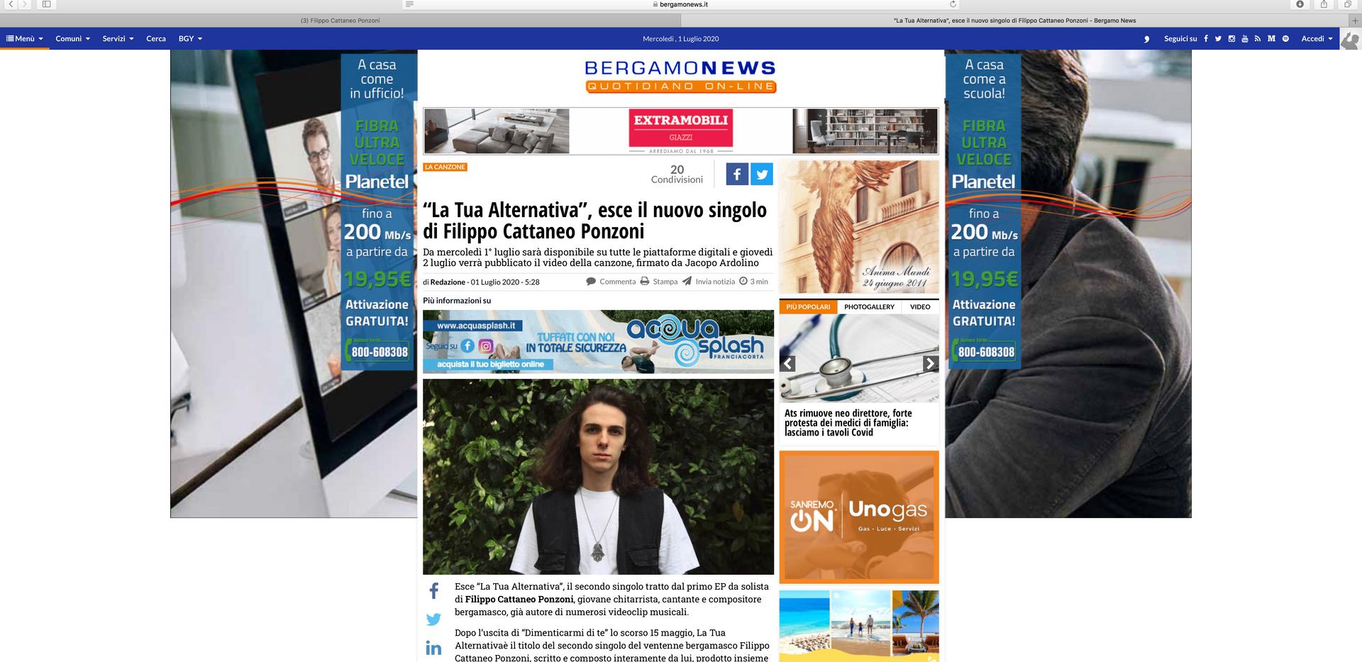 Aricolo BG News