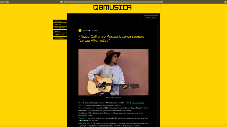 Intervista QBMusica