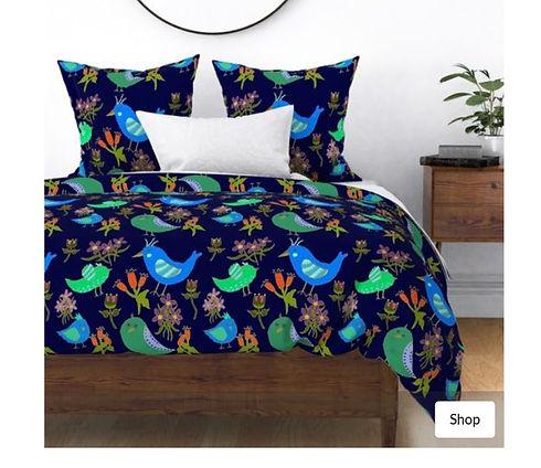 Fantasy Blue Bird Floral.jpg
