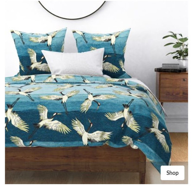 Sea Cranes Bedding.jpg