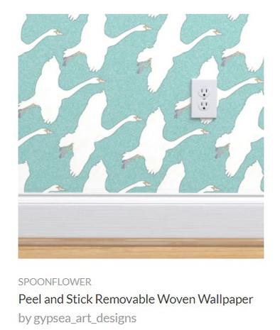 Flying Geese Wallpaper.jpg