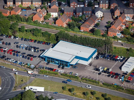 OPENING OF EVANS HALSHAW CAR STORE, GLOUCESTER