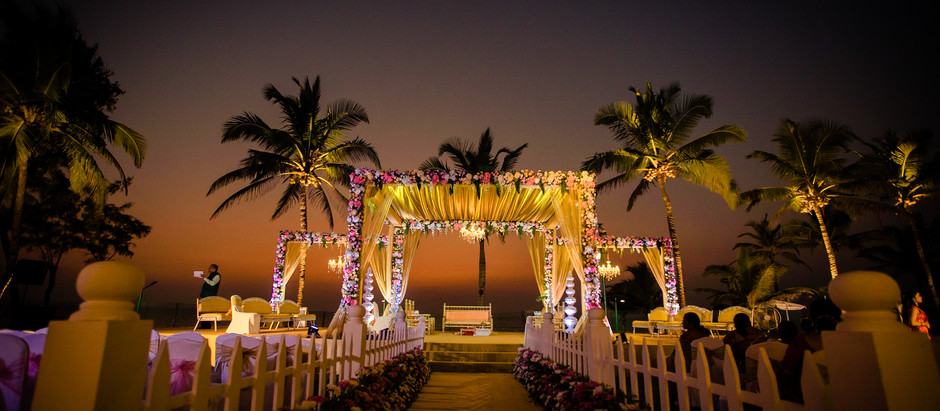 Top 5 hotels in Goa for that picture perfect beach wedding