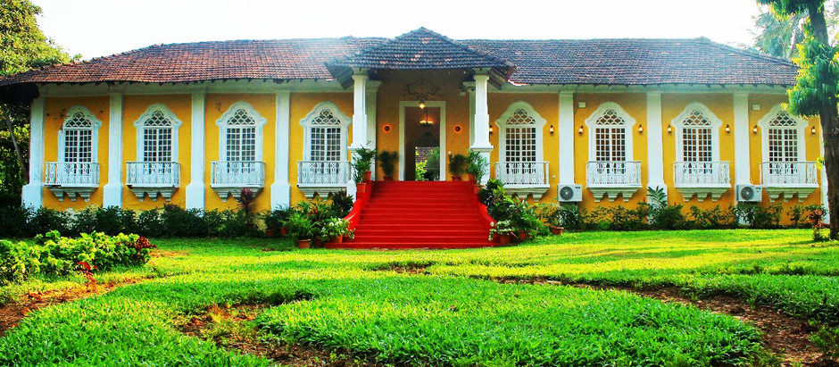 HOW TO TURN AN ANCESTRAL HOUSE INTO A WEDDING VENUE IN GOA