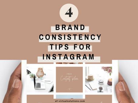 Brand Consistency On Instagram