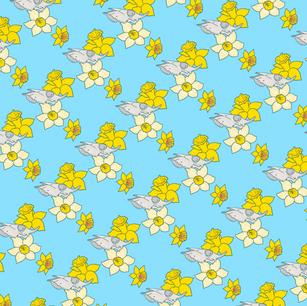 Daffodils + Bovine