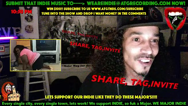 Indie Shyt, Submit that heat to WEAREINDIE@ATGRECORDING.COM