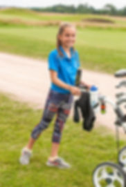 Girls love our golf camps based in St Andrews
