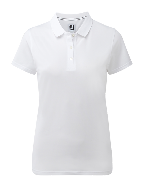 Women's Footjoy Stretch Pique Solid Polo