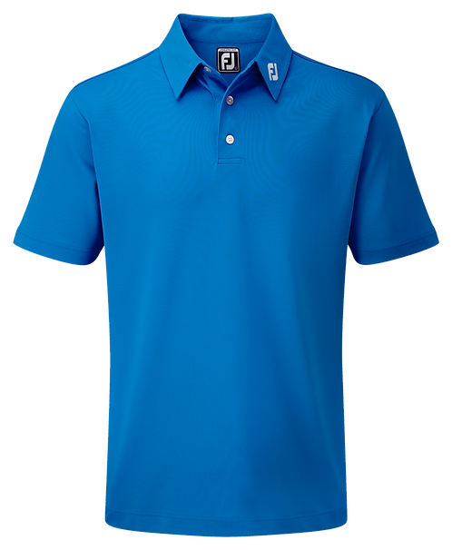 Mens Footjoy Stretch Pique Solid Polo