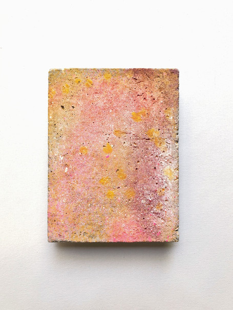 2019 Enamel on acrylic render 20 x 15 cm