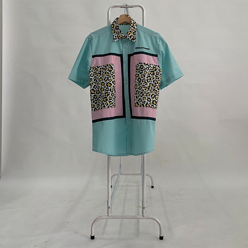 2021ss Leopard Printed Shirt