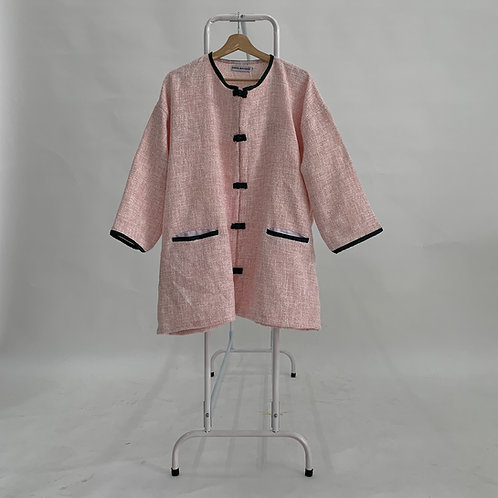 2021ss Tang Suit with Furry Macaroni Script