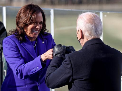 Joe Biden, Kamala Harris Sworn In