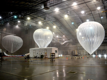 How Google's giant Satellite Balloons are pruning Bitcoin to explode in value