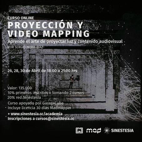 PROYECCIÓN Y VIDEO MAPPING POR SERGIO MORA-DÍAZ