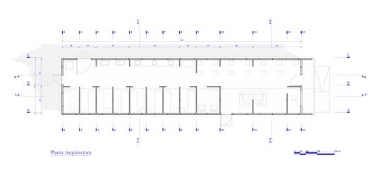 Z0 HCUCH Planta Arquitectura