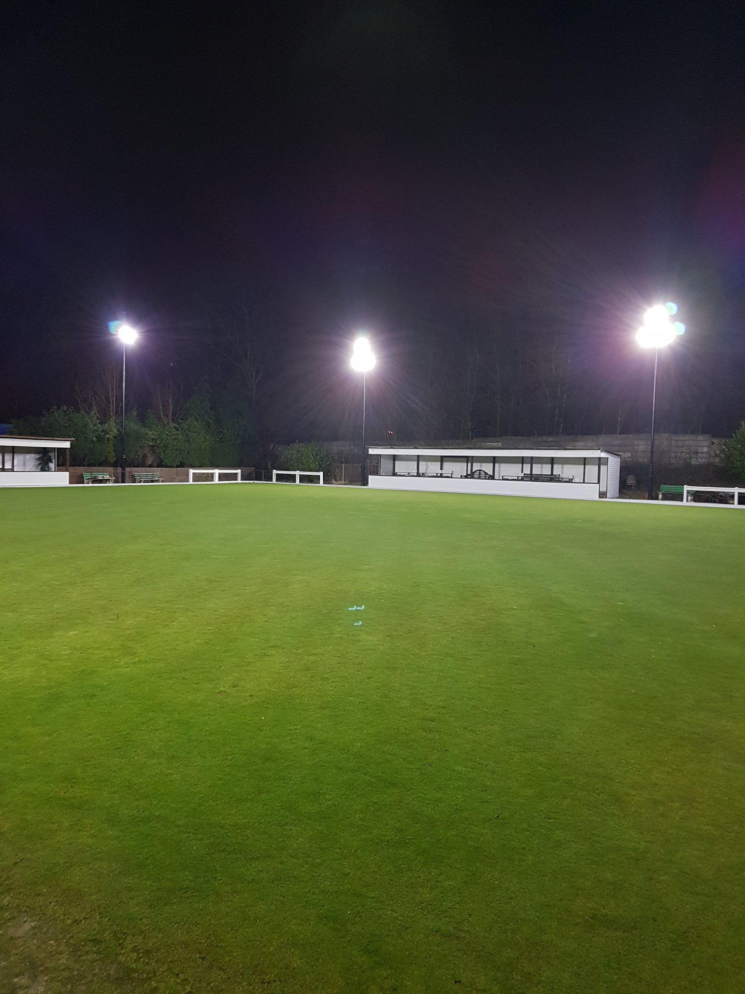Green with Floodlights