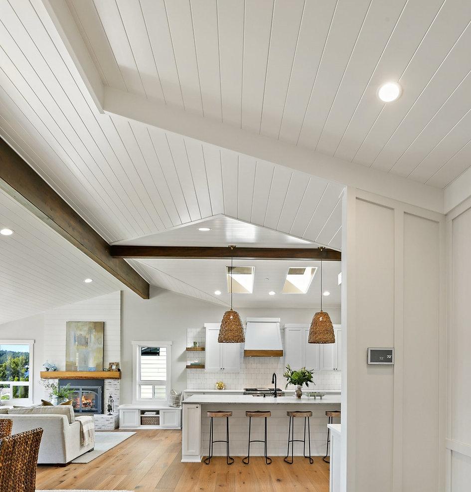 Entry detail Island Living Kitchen Proje