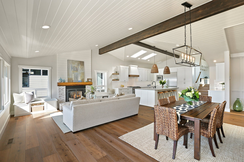 Dining Room  Island Living Kitchen Proje