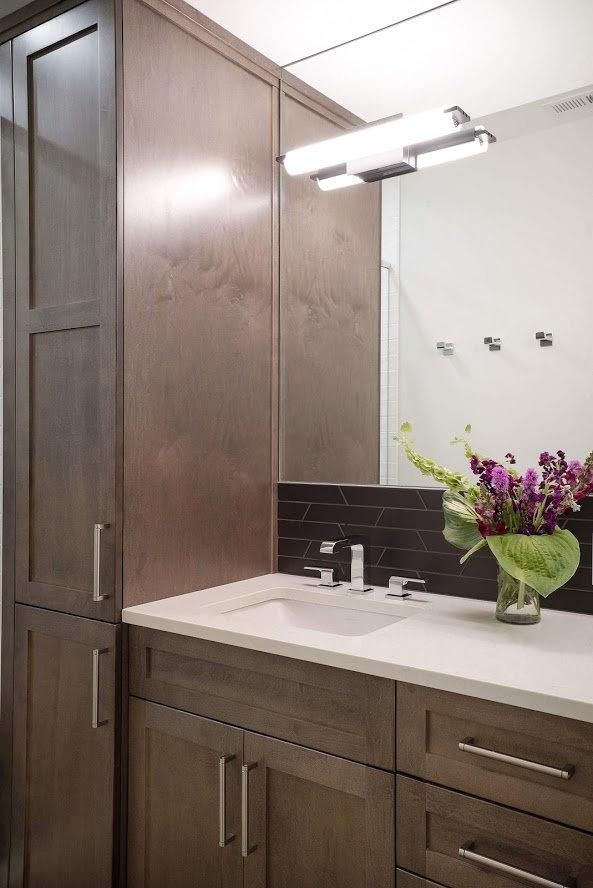Guest Bath Vanity Photo By Matthew Witsc
