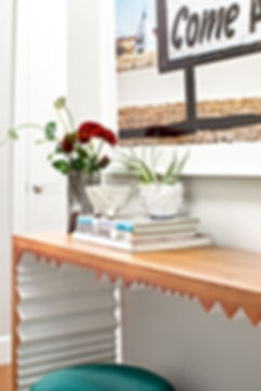 Entry Console W H Earle Photography