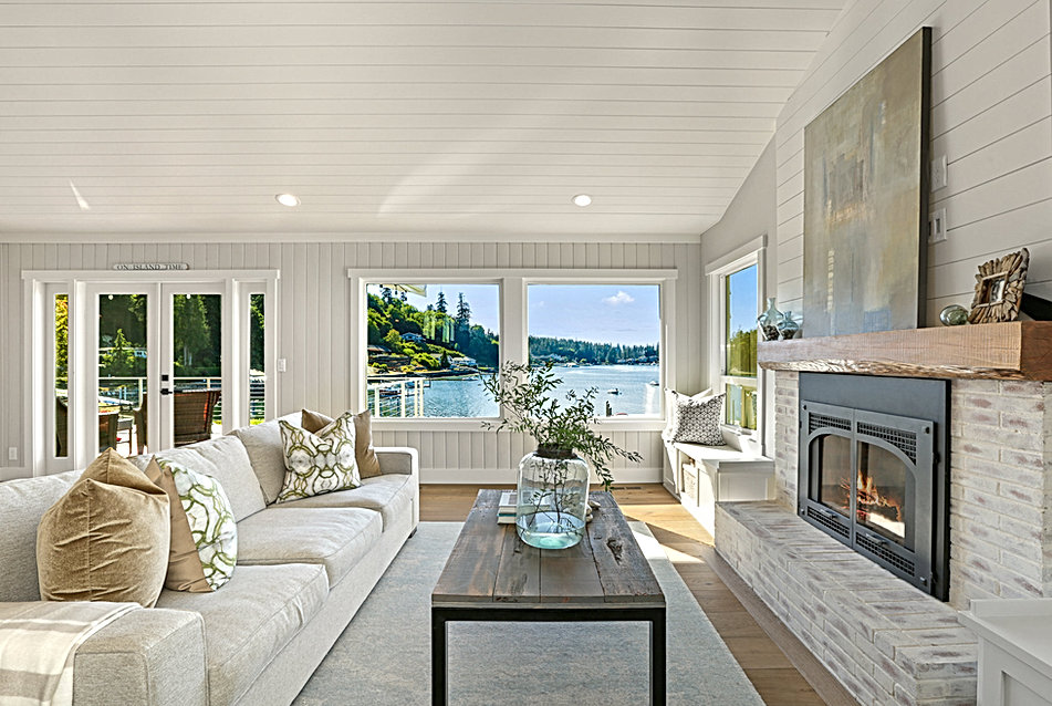 Great Room Island Living Kitchen Project