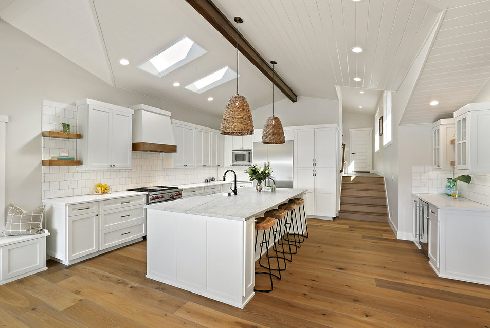Kitchen Overview  Island Living Kitchen