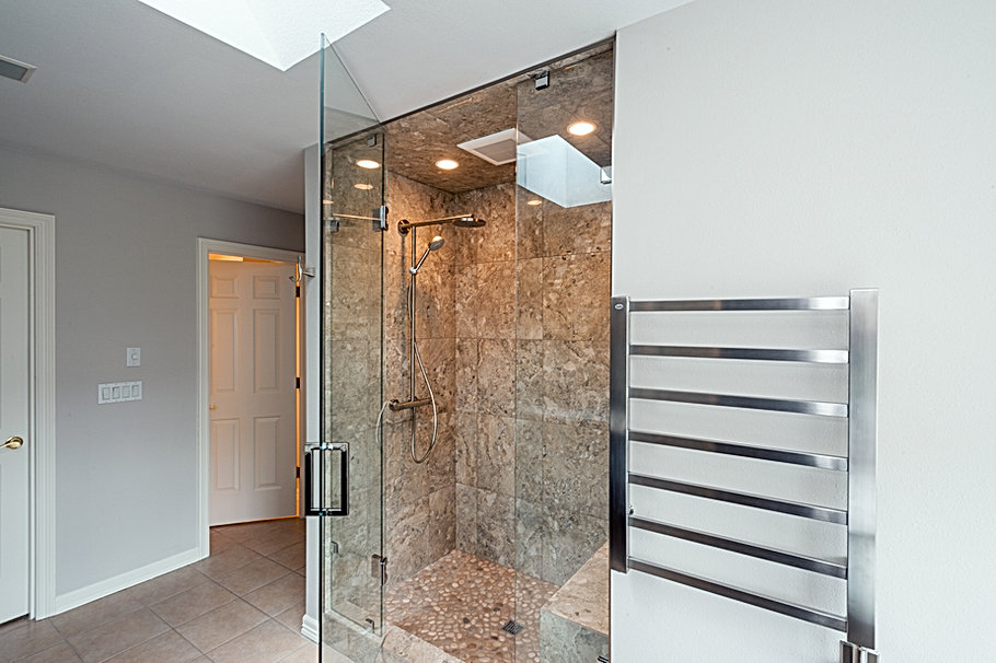 University Place Master Bath Shower Deta