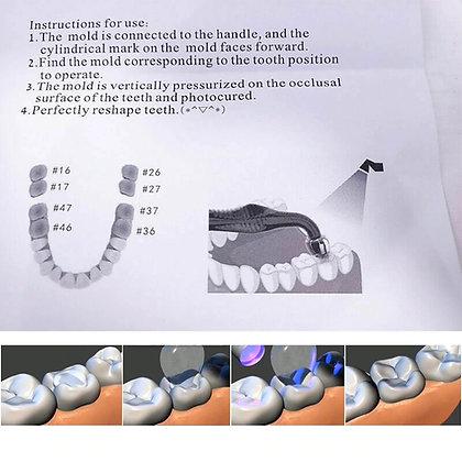 Dental Posterior teeth aesthetic printing mold