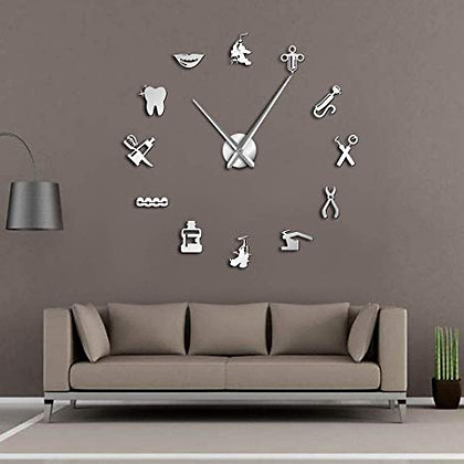 Dental Clinic Interior Design Clock