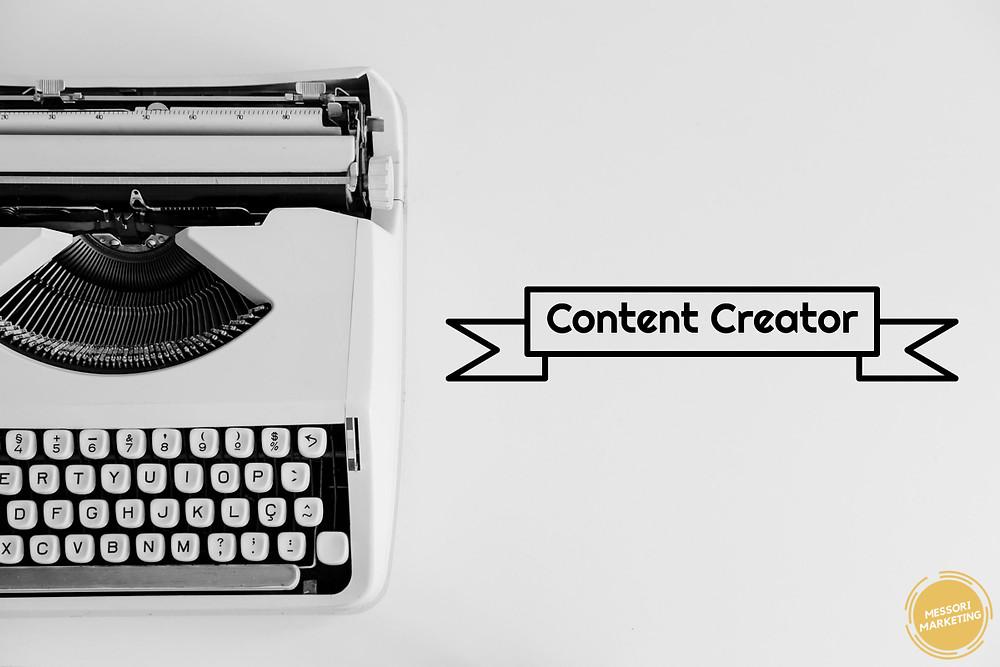 Becoming a digital content creator
