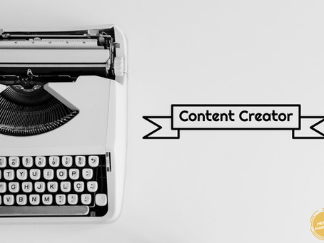 Digital marketing — becoming a content creator