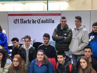 """Los alumnos de 1º de Bachillerato participan en la """"Ruta de Emprendimiento"""" de la CVE."""