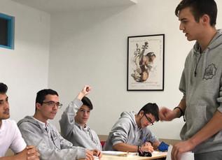 Nuestros alumnos comienzan la preparación de la Segunda fase del Torneo Escolar de Debate.