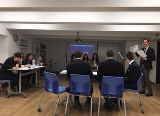 Éxito del Seminario en la primera fase del II Torneo Escolar de Debate