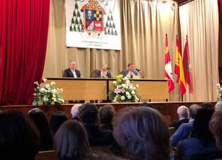 Conferencia de Jaime Mayor Oreja en el Seminario.