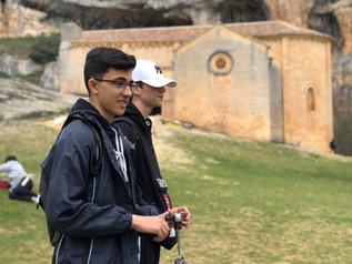 Los alumnos del colegio Seminario Menor visitan la Colonia Clunia Sulpicia.