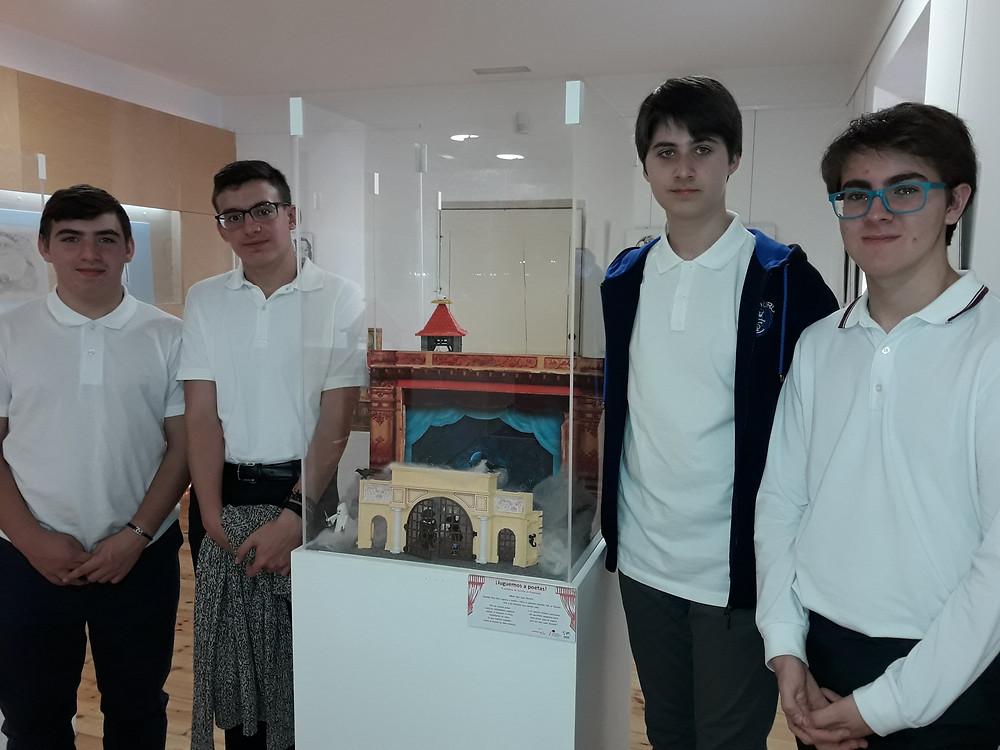 Alumnos 4º E.S.O en la Casa Zorrilla