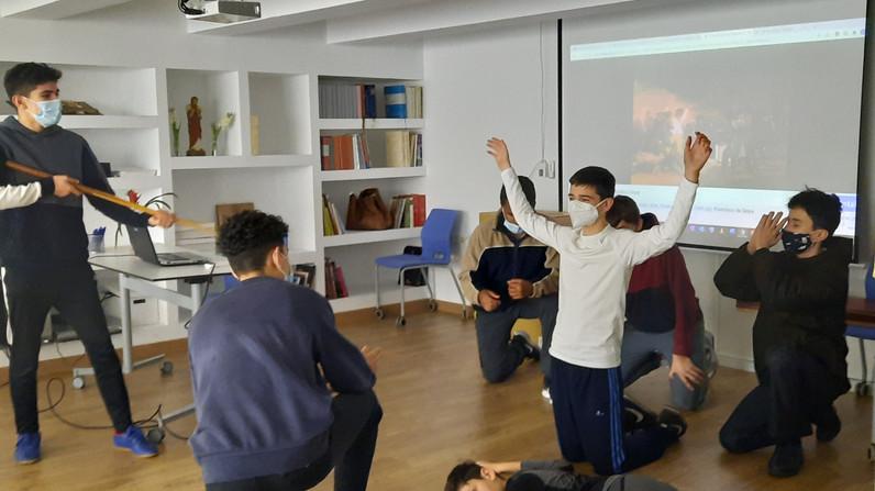 Cuadros vivientes, el arte en el Colegio Seminario Menor