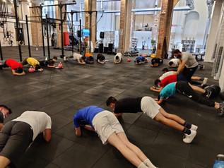 Sesión final de CrossFit para nuestros alumnos del Colegio Seminario Menor