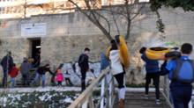 Nuestros alumnos retoman el piragüismo tras las vacaciones de Navidad