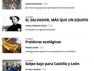 """Nuevos artículos en """"El Norte Escolar"""":"""