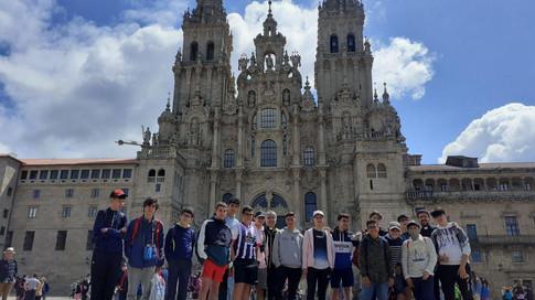 Campamento fin de curso en Santiago de Compostela