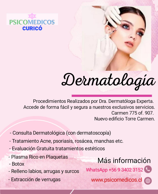 Consulta Médica Dermatología